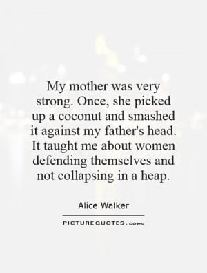 Strong Mother Quotes Father