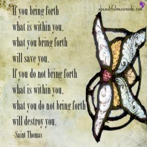 Inspirational Quotes, saint thomas