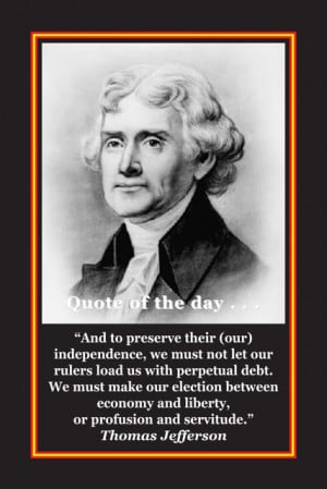 thomas jefferson quotes thomas jefferson was one of the founding ...