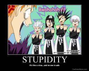 Bleach Anime Stupidity
