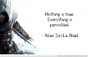 Assassins Creed Altair Quote