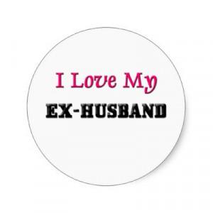 http://rlv.zcache.com/i_love_my_ex_husband_sticker ...
