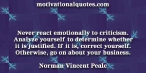 norman vincent peale quotes with images | ... yourself. Otherwise, go ...