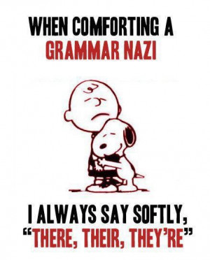 To all you English majors out there!