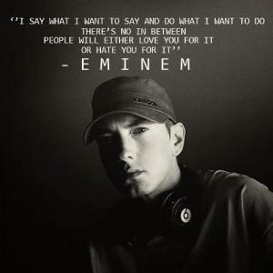 Eminem Quotes About Haters ~eminem