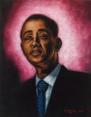 Re: Bad paintings of Barack Obama