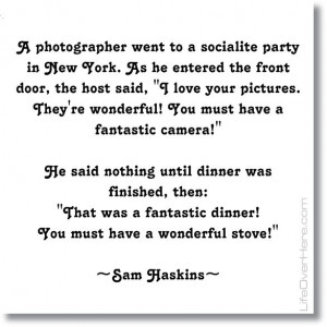Photography Quote by Sam Haskins #photography #photographers