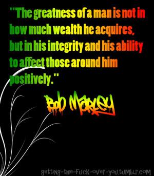 Bob Marley quote by ItachiUchihaIsMine