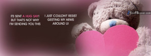 Hug Day Quotes Facebook Cover