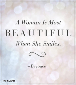 Beyonce, quote, beautiful, confidence, smile, smiling, woman, destiny ...