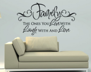 quotes about family family vinyl wall decal wall quote subway wall