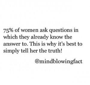 Don't lie.