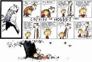 Tear Jerker: Calvin and Hobbes