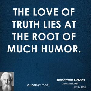 Robertson Davies Humor Quotes