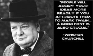Winston Churchill's Guide To Good Quotes