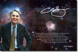 Details about CARL SAGAN SIGNED PHOTO PRINT - COSMOS AUTOGRAPH POSTER ...