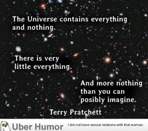 Funny Quotes About the Universe