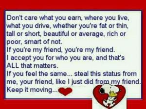 Friends no matter what!!
