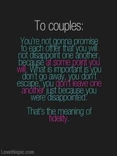 To Couples couples quote marriage relationship stay forever ...