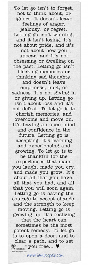 Letting go. This is beautiful.: Lets People Go Quotes, Lettinggo ...