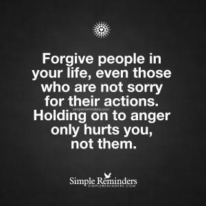 People Who Forgive
