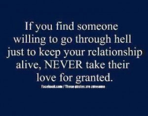 All Relationships Go Through Hell