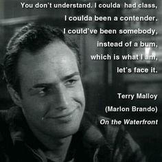 Terry Malloy in On the Waterfront (1954) More