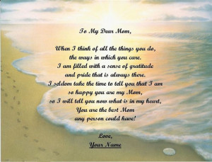 ... Of Ideal Happy Mother's Day Poems From Teenage Daughter For You