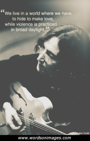John lennon love quotes