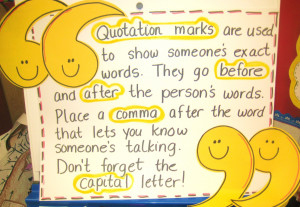 Click on link above to play: Grammar Gold Quotations.