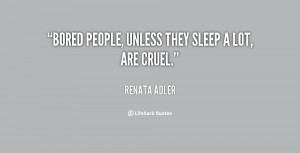 Boring People Quotes