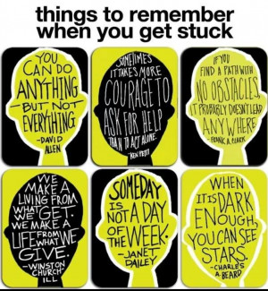 ... classroom with motivational quotes for students having difficulties