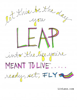Leap Day Doodle Art from Liv ~ Free Download