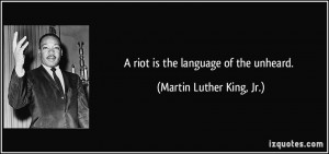 martin luther king jr quotes riot Projects