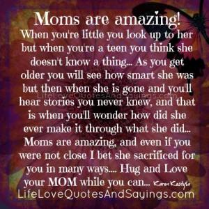 Moms Are Amazing..