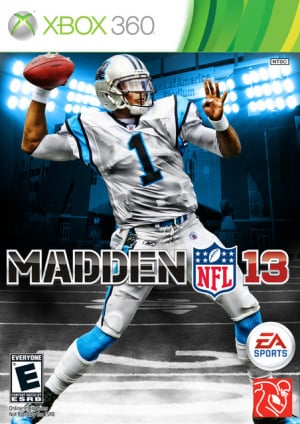 madden nfl 13 custom cover thread cam newton full resolution