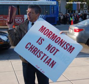 Anti Mormon Protesters The