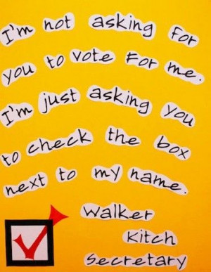School Election Quotes. QuotesGram
