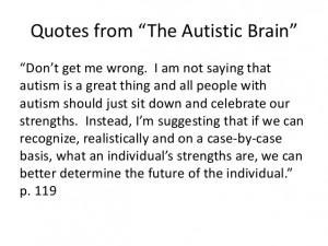 Autism Quotes For Parents Quotes from the autistic