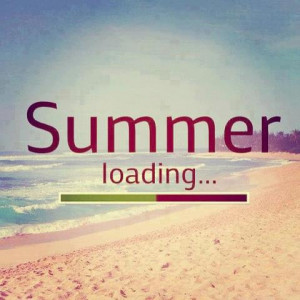 summer loading....get your beach on...