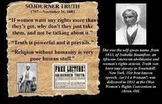 SOJOURNER TRUTH More