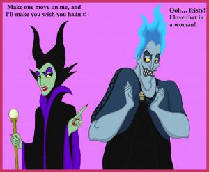 Disney Princess Maleficent and Hades