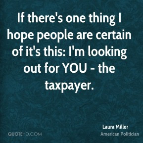 Taxpayer Quotes