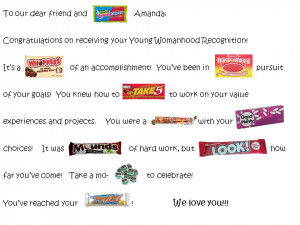 To check out this one, CLICK HERE . It's a graduation Candy Gram.