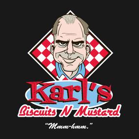 Karl's Biscuits N Mustard