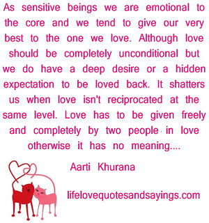 Unconditional love quotes, quotes on unconditional love
