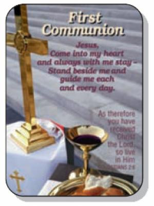 Verse Card - First Communion