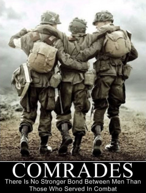 ... only time you do not feel alone is when with another combat veteran