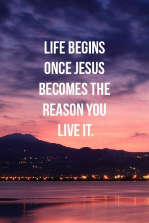 relationship with Jesus gives us life in two ways. Eternal life in ...