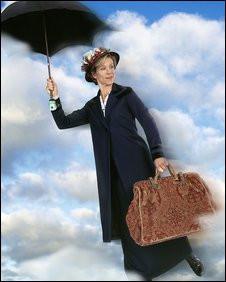 Juliet Stevenson as Mary Poppins